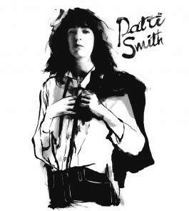 Camiseta Patti Smith - Horses - Feminino