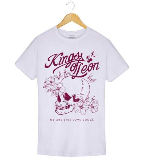 Camiseta Kings of Leon - We Are Like Love Songs - Masculino