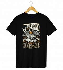 3bc304d231 Camiseta Johnny Cash - Country Rock - Masculino ...