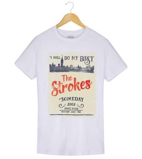 Camiseta The Strokes - Someday - Masculino