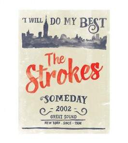 Camiseta The Strokes - Someday - Feminino