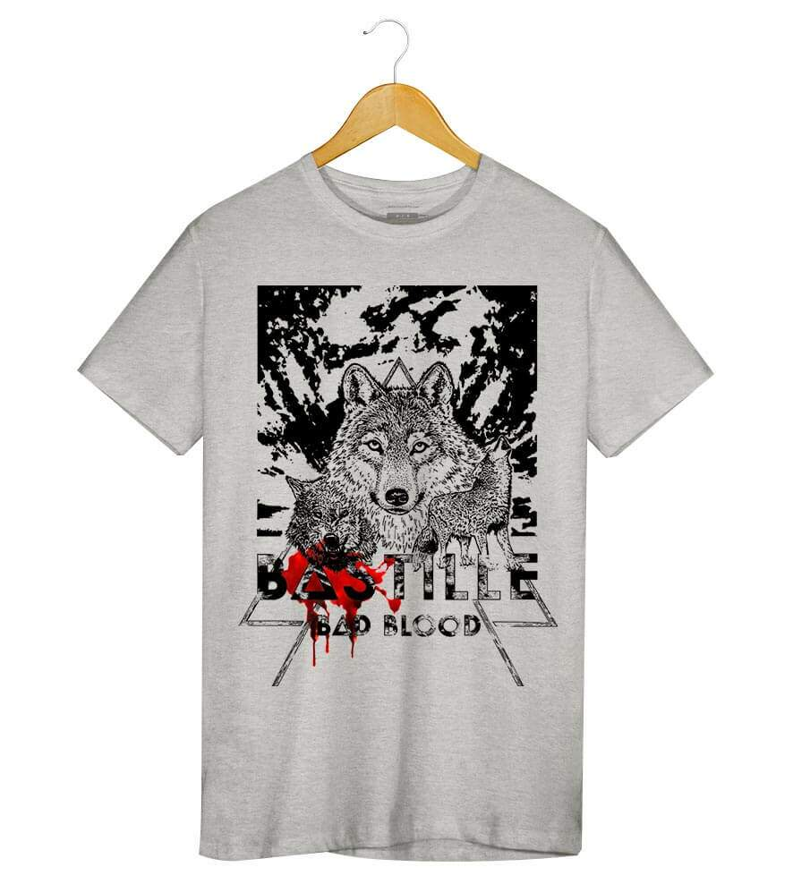Camiseta - Bad Blood - Bastille - Masculino