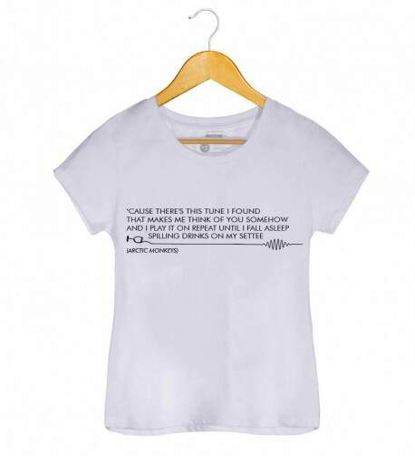 Camiseta - Arctic Monkeys - do I Wanna Know? - Feminino
