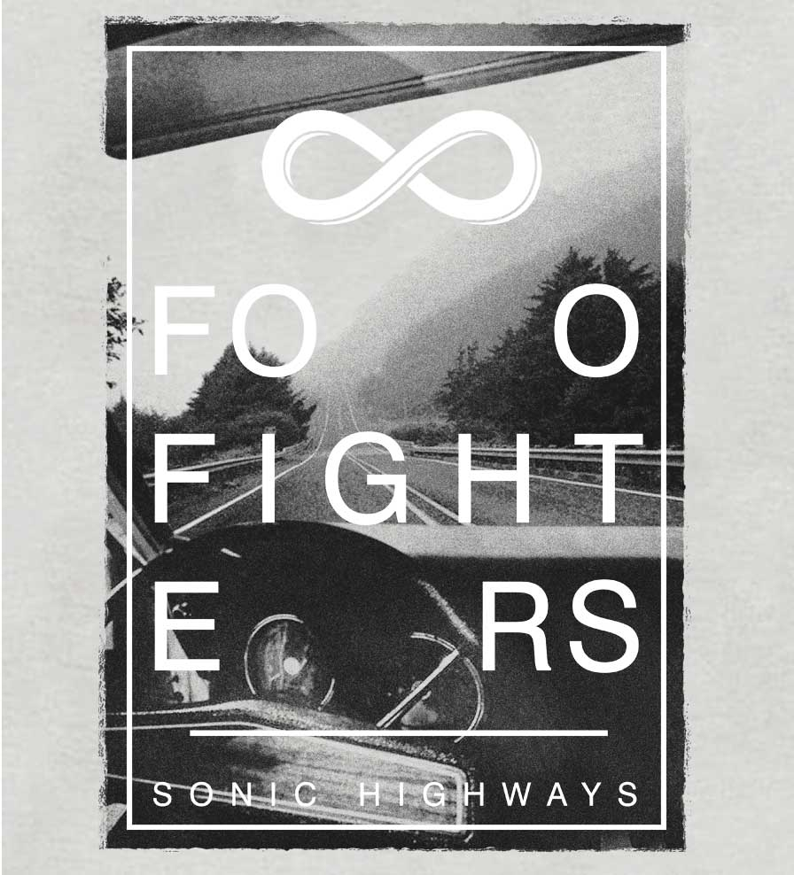 Camiseta Foo Fighters - Sonic Highways - Masculino