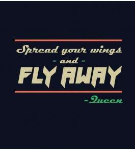 Camiseta - Spread Your Wings - Queen - Masculino