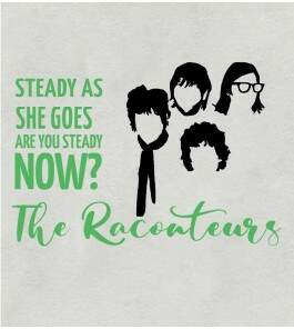 Camiseta - Steady As She Goes - The Raconteurs - Feminino