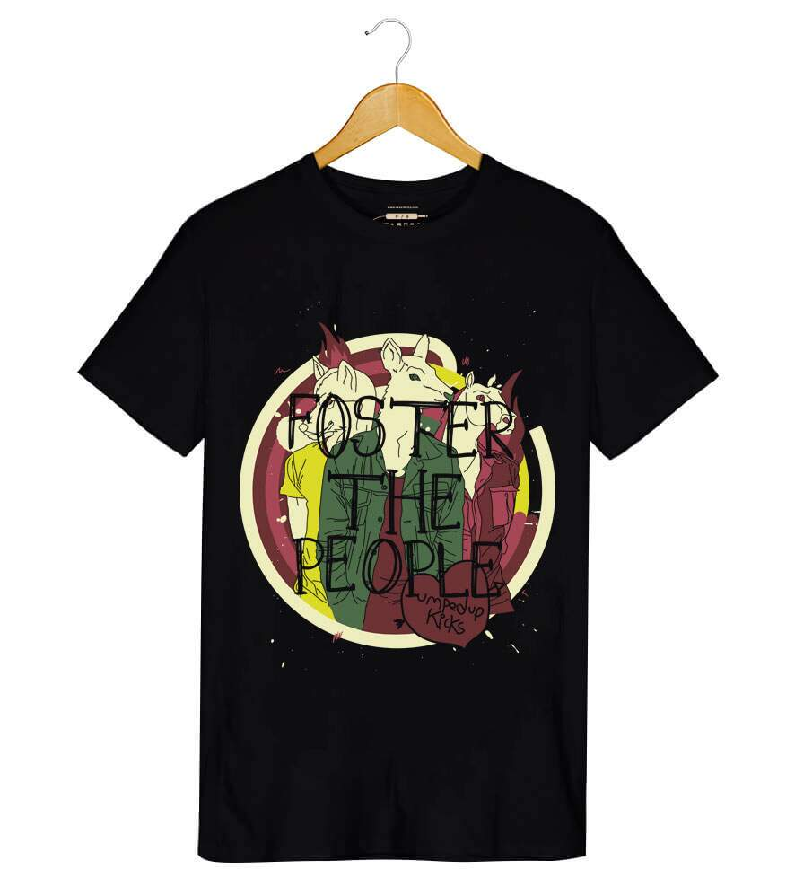 Camiseta - Pumped Up Kicks - Foster The People - Masculino