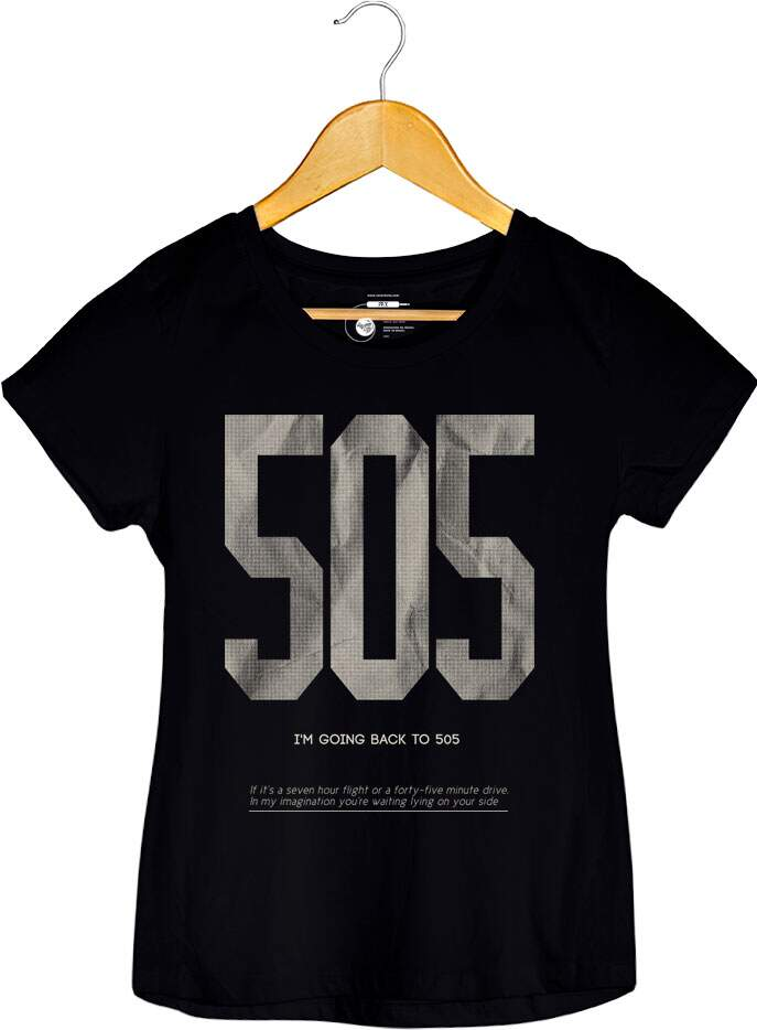 Camiseta Arctic Monkeys - 505 - Feminino