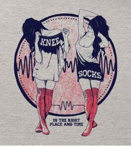 Camiseta Arctic Monkeys - Knee Socks - Masculino