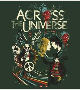 Camiseta Across The Universe - Masculino