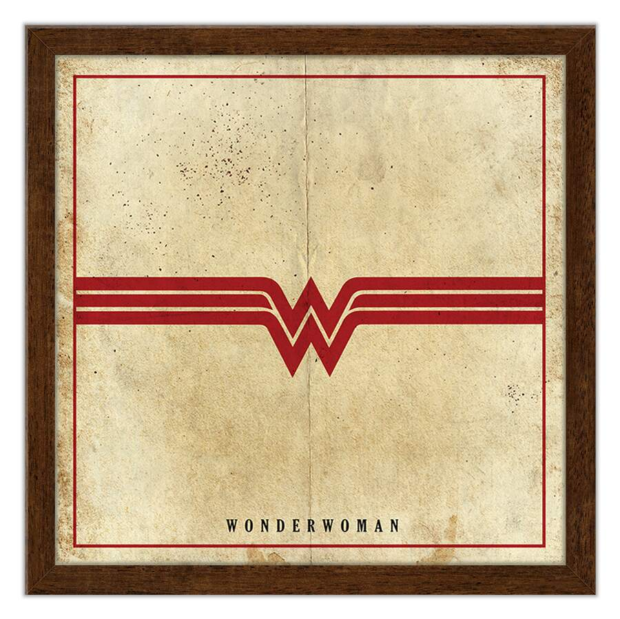 Quadro Decorativo Geeks Wonder Woman