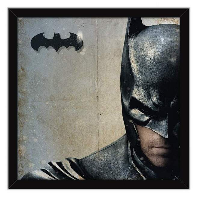 Quadro Decorativo Com Moldura Geeks Batman Arkham Knight