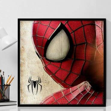 Quadro Decorativo Com Moldura Geeks The Amazing Spider-Man
