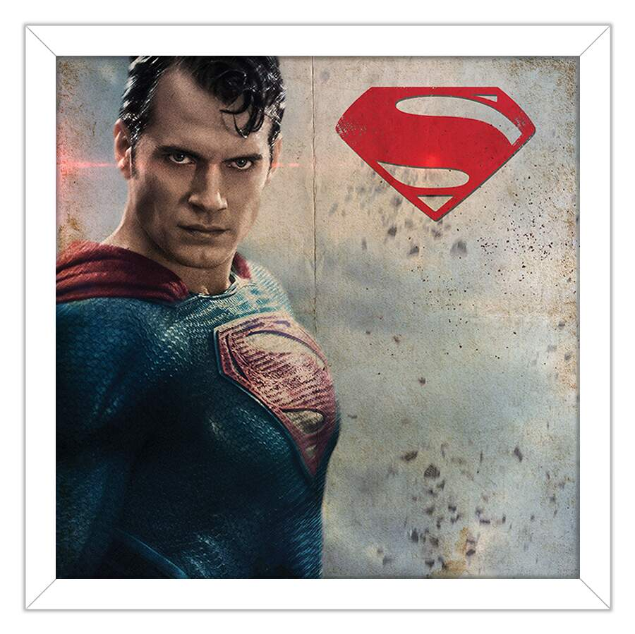Quadro Decorativo Geeks Superman