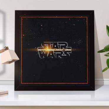 Quadro Decorativo Geeks Star Wars
