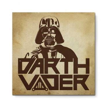 Quadro Decorativo Geeks Darth Vader