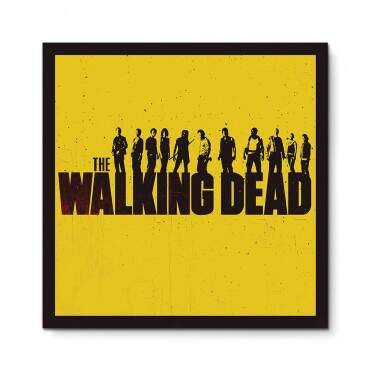 Quadro Decorativo Geeks The Walking Dead