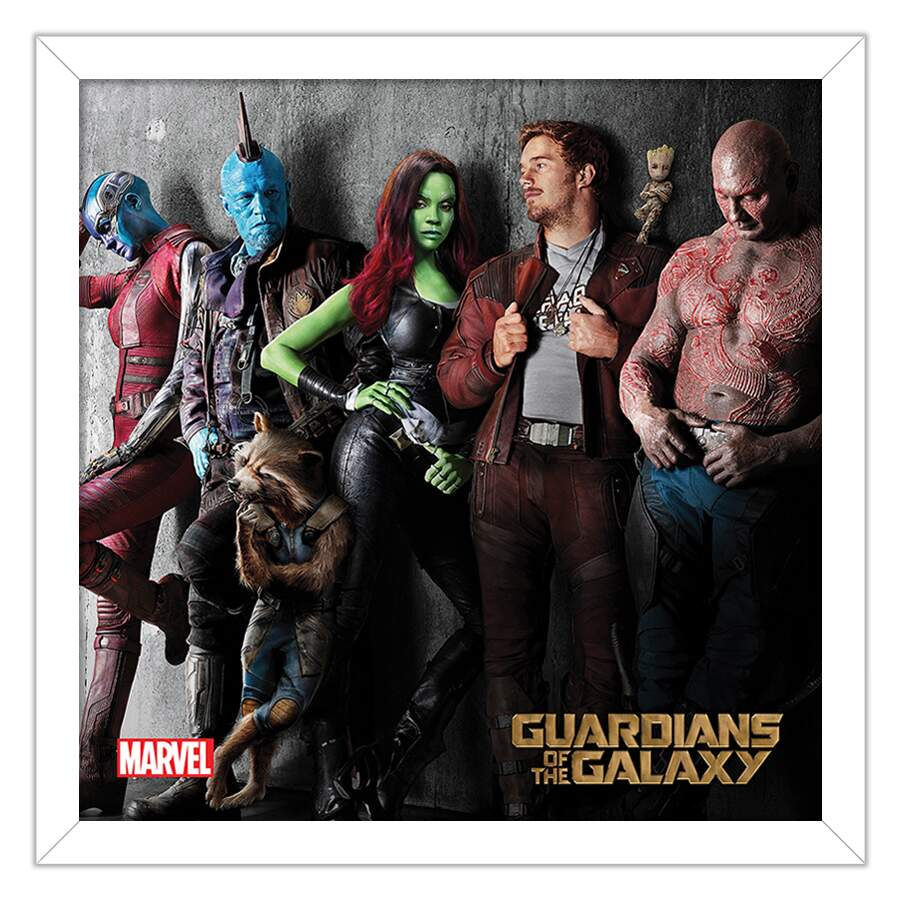 Quadro Decorativo Geeks Guardians of the Galaxy