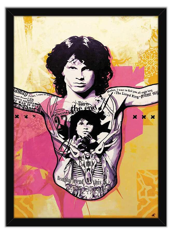Quadro Decorativo Jim Morrison