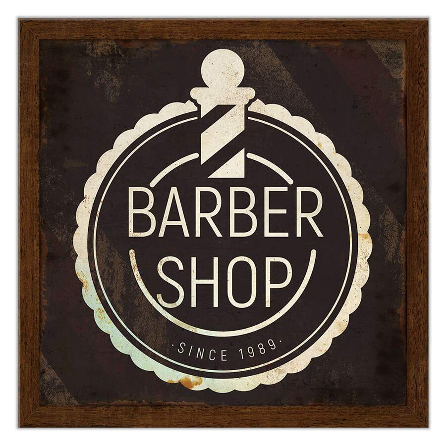 Quadro Decorativo Barbearia Barbershop