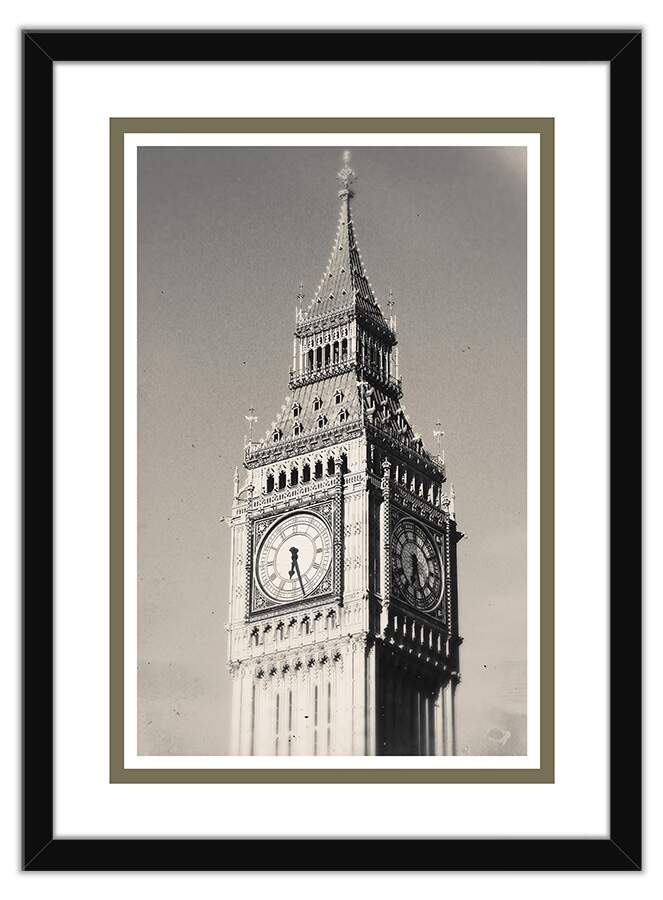 Quadro Decorativo Fotografia Big Ben
