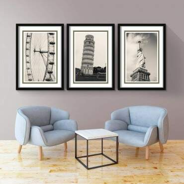 Quadro Decorativo Jogo Travel The World
