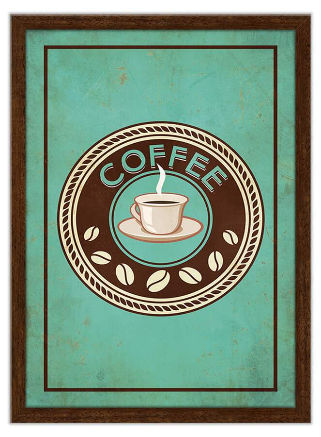Quadro Decorativo Gourmet Coffee