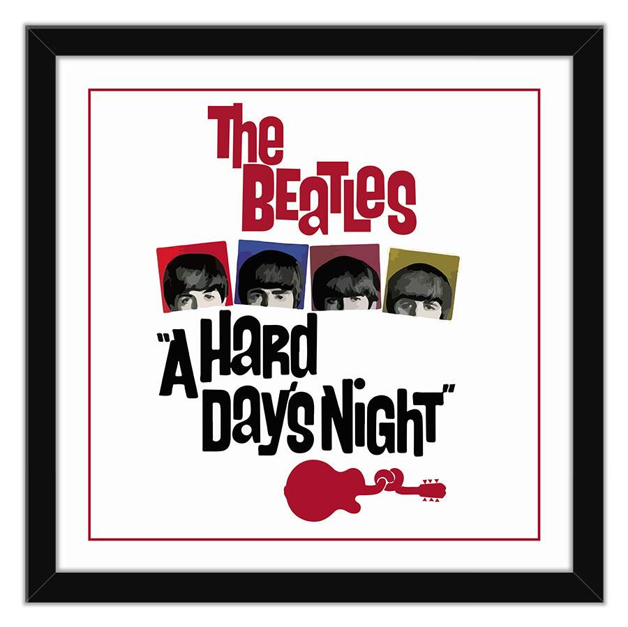 Quadro Decorativo A Hard Days Night