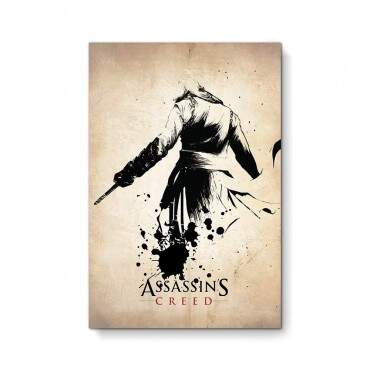Quadro Decorativo Geeks Assassins Creed
