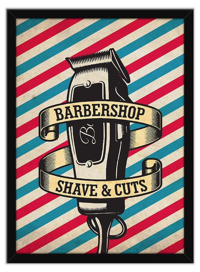 Quadro Decorativo Barbershop