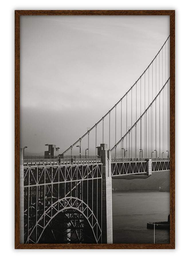 Quadro Decorativo Com Moldura Fotografias Golden California