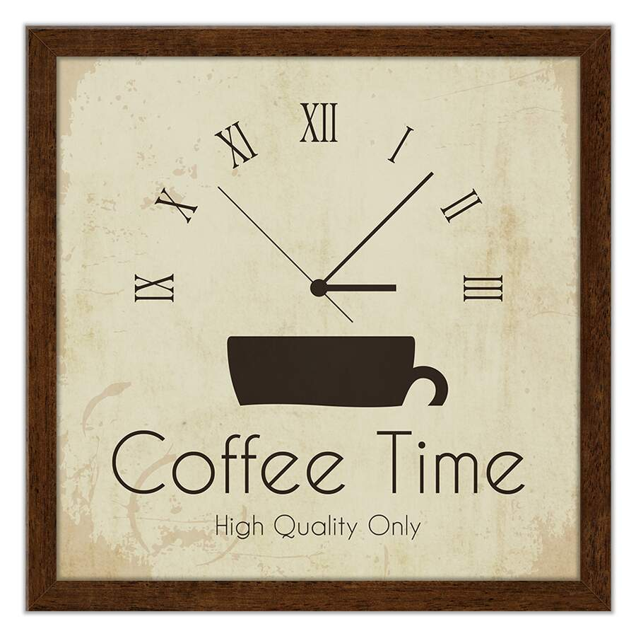 Quadro Decorativo Gourmet Coffee Time