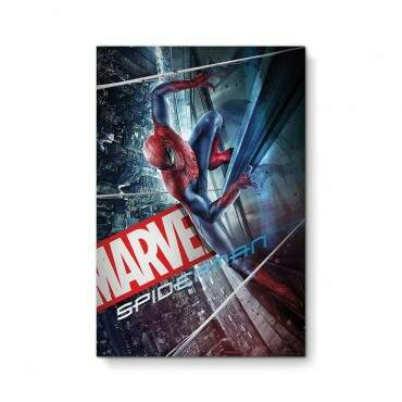 Quadro Decorativo Geeks Spiderman City