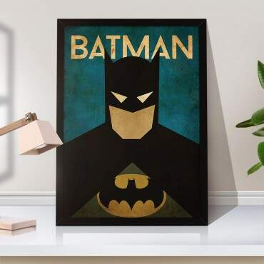 Quadro Decorativo Geeks Batman