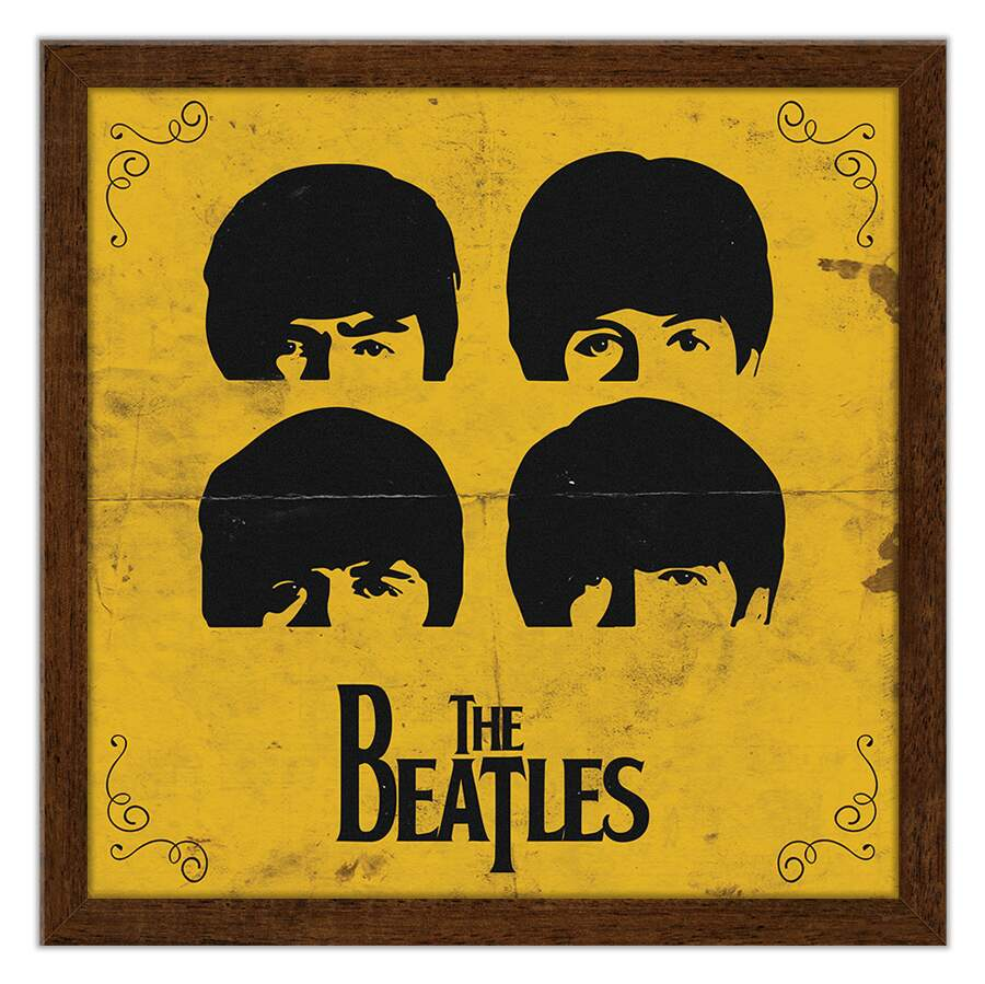 Quadro Decorativo Musicas The Beatles
