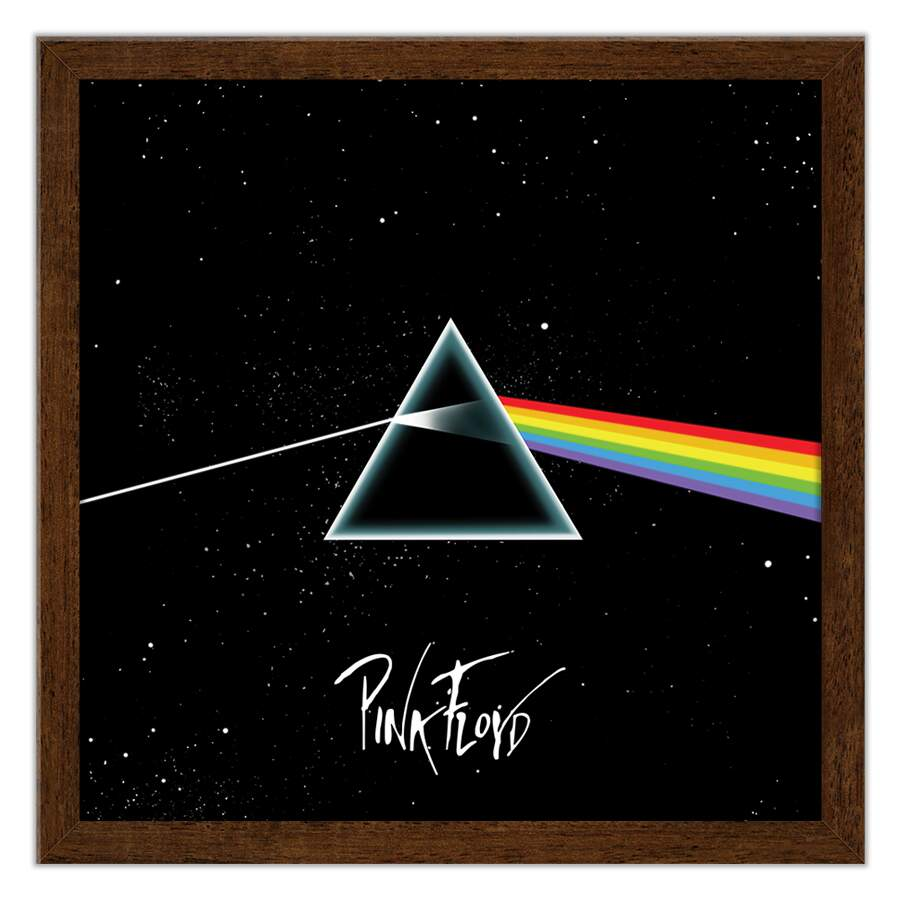 Quadro Decorativo Musicas Pink Floyd Dark Side Of The Moon