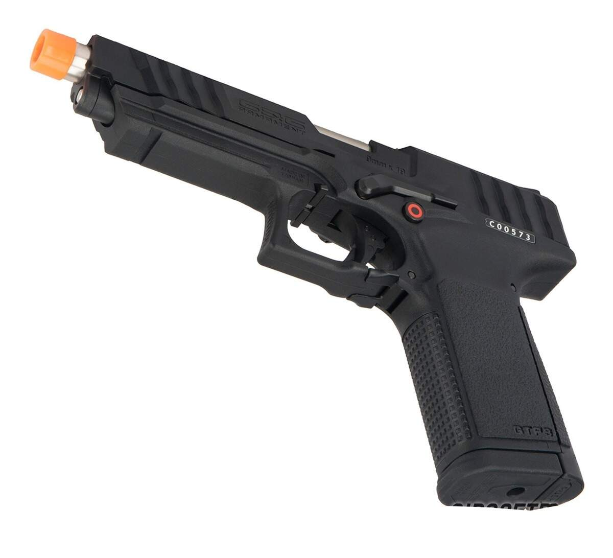 PISTOLA AIRSOFT G&G MODELO TP9 GREEN GAS BLOWBACK