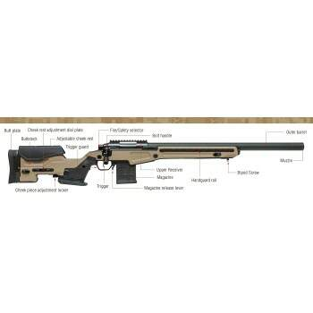 RIFLE DE AIRSOFT SPRING SNIPER ACTION ARMY T10