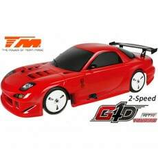 Automodelo Combustão Team Magic 1/10 G4D RTR (2 speed)-RX7