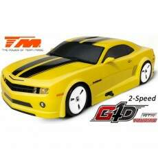 Automodelo Combustão Team Magic 1/10 G4D RTR (2 speed)-CAMARO