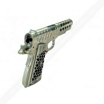 Airsoft WE 1911 Hex Cut Gen2 - GBB - FULL Metal