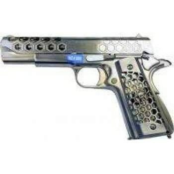 WE GBB 1911-Ser Hex Cut Gen2 Chrome