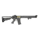 RIFLE DE AIRSOFT ELETRICO APS 117 ASR FULL METAL BLOWBACK