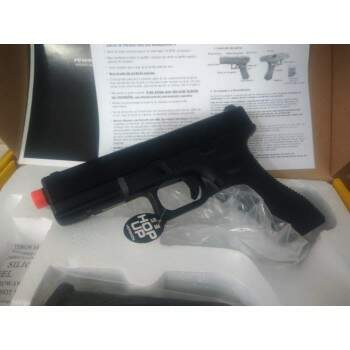 Pistola de Airsoft greengas Army Armament blowback R17 GBB Pistol - Black