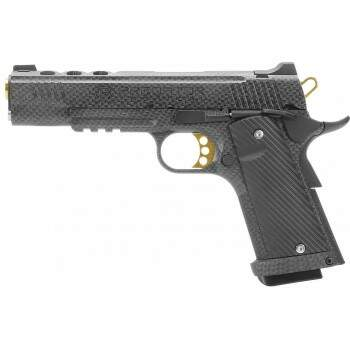 Pistola de airsoft gas -gbb - King Arms Predator 1911 CARBON