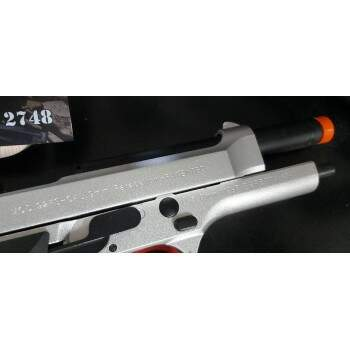PISTOLA AIRSOFT GBB M92 FULL METAL - DOUBLE BELL 726Y