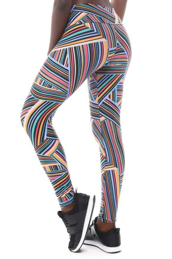 CALÇA LEGGING LYGHT ESTAMPADA