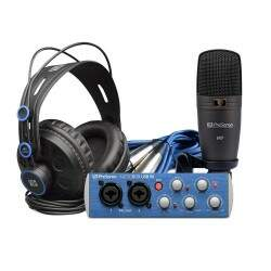 Kit Interface Áudio PreSonus AudioBox 96 Studio Usb
