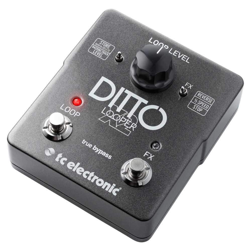 Pedal Looper Ditto X2 Tc Electronic