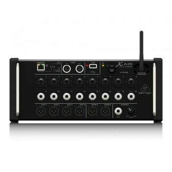 Mesa de Som Behringer Mixer Digital Xr16 Air 16 Canais